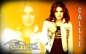 The Fosters Wallpaper - Callie by CertainlyLostFameGal