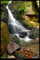 Lumsdale Falls II by Megglles