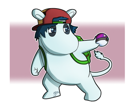 Pokemon Trainer Moomin by TheKevMeister