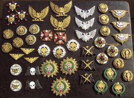Imperial Guard Medals All by DefenderHecht