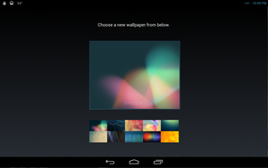 WIP Android Jelly Bean for Rainmeter V2 Wallpapers by ScoobSTi