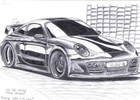 Porsche 997 with FAIK by Faik05