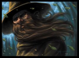 Wizard by Ray Dillon by GoldenGoatStudios