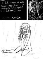 In The Rain pg1 by VonEagasta