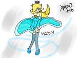 Rosalina Windy Weather v2 :Colors 3D: by Xero-J