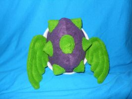 Green and Purple Turtle Shell by smorggie