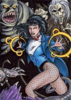 DC: Women of Legend - Zatanna by tonyperna