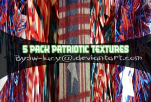 5 Pack Patriotic Textures by LW-Lucy