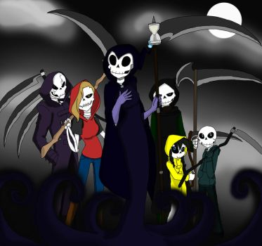 The Reapers by ZanyComics