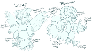 Winter Morphs! by gatorstooth