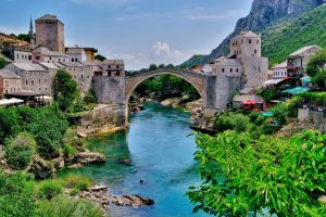 Mostar -Old Bridge by CitizenFresh
