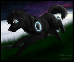 ArtTrade with FalakTheWolf by Ahiku-wolf