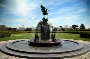 Fountain on Belle Isle by krystledawn