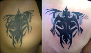 cover up  before and after by devilwithin91