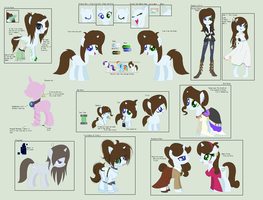 Gamer Glitch Heart Official Reference Sheet by MoonIight-Eevee