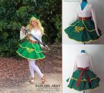 Link - Legend of Zelda - Cosplay Lolita Skirt by DarlingArmy