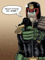 Judge Dredd by The-Mirrorball-Man