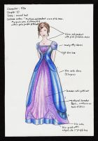 Ella Enchanted Costume 7 by wretchedharmony-lina