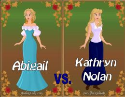 Abigail vs. Kathryn by Sunshine-Girl524