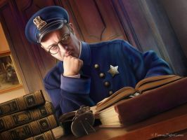 C.o.C. : Educated Officer by Thaldir