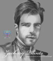 zachary quinto by jmag87