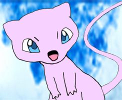 151 - Mew by xXPikaPrincessXx