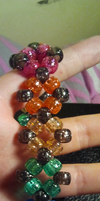 Diamond Kandi Bracelet by anne-t-cats