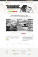 Architectural Company Web Design by vasiligfx