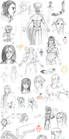 Le sketchdump by Glor666