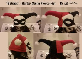 Harley Quinn Fleece Hat by LiliNeko