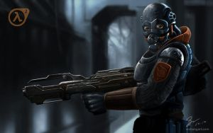 Combine Soldier - Half Life 2 by job