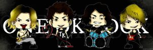 Chibi ONE OK ROCK by martaLovess