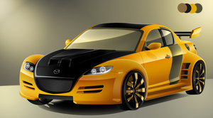 Mazda RX-8 Color by Adrianstorm