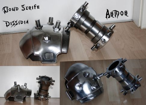 CLOUD STRIFE - Cosplayprops - Armor by Shinkan-Seto