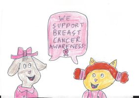 Fern and Sue Ellen - Breast Cancer Awareness by dth1971
