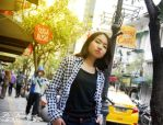Keep Pose on a citywalk by ZiiOzie