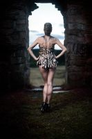 Bones Corset- Glamour Photo Shoot by Ida-Astero