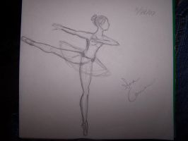 arabesque en pointe by IceCreamSprinkle