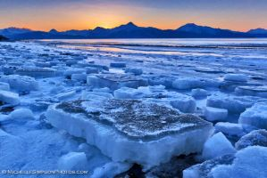 Ice Chunks 2 by MSimpsonPhotos