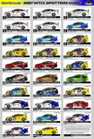 WTCC Spotters Guide by andyblackmoredesign