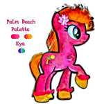 Adoptable: Paisley Pony #3 (Rare Eye Trait) CLOSED by UkuleleMoon