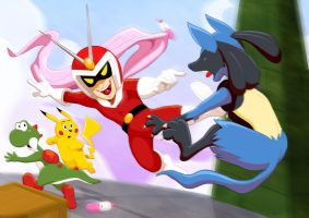Newcomer Viewtiful Joe by Zimeta