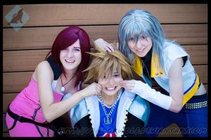 Sora: Kingdom Buddies by VandorWolf