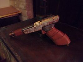 Steampunk NES Light Gun by ShadowMaginis