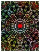 Same kaleidoscope I see by marjol3in