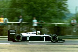 Andrea de Cesaris (Great Britain 1987) by F1-history