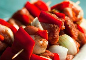 Scrumptious shashlik by WellnessWater