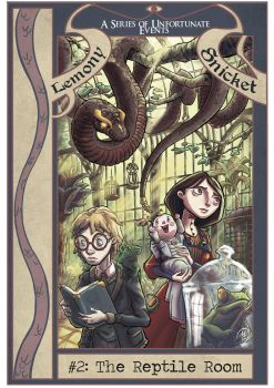 A series of unfortunate events - The reptile room by MarcoGiorgianni