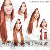 Hyomin PNG Pack by Sweetgirl8343