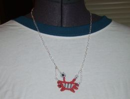 Beaded Wilt Necklace by NeitherSparky